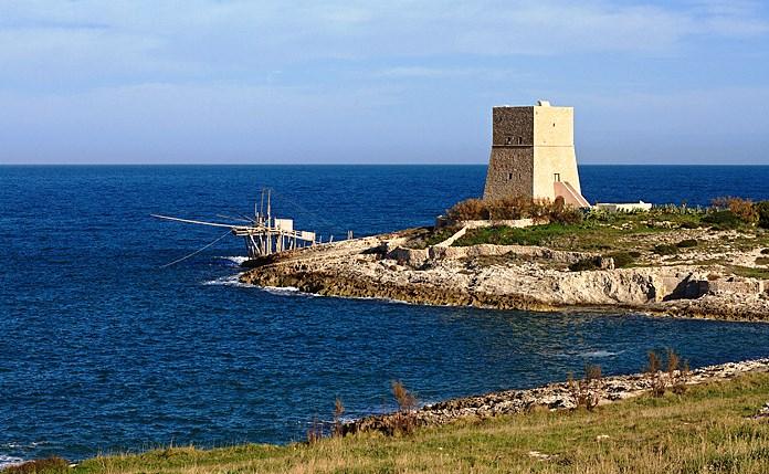 Vieste: torre costiera di Porticello